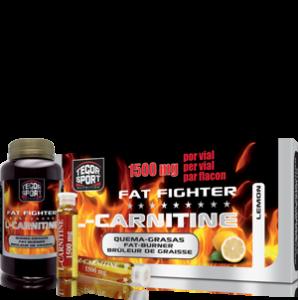 Fat Fighter L-Carnitine Quemagrasas Tegor Sport