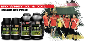 Proteína ISO WHEY XL Y XXL