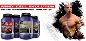 Whey Cell Evolution, proteína de calidad