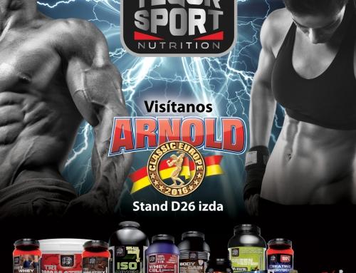 Tegor Sport estará presente en el Arnold Classic Europe 2016