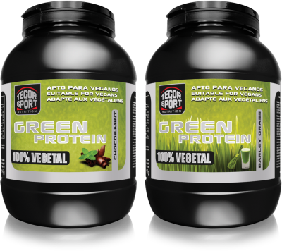 Green Protein Tegor Sport proteina vegetal