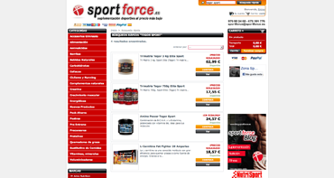 PANTALLA SPORT FORCE