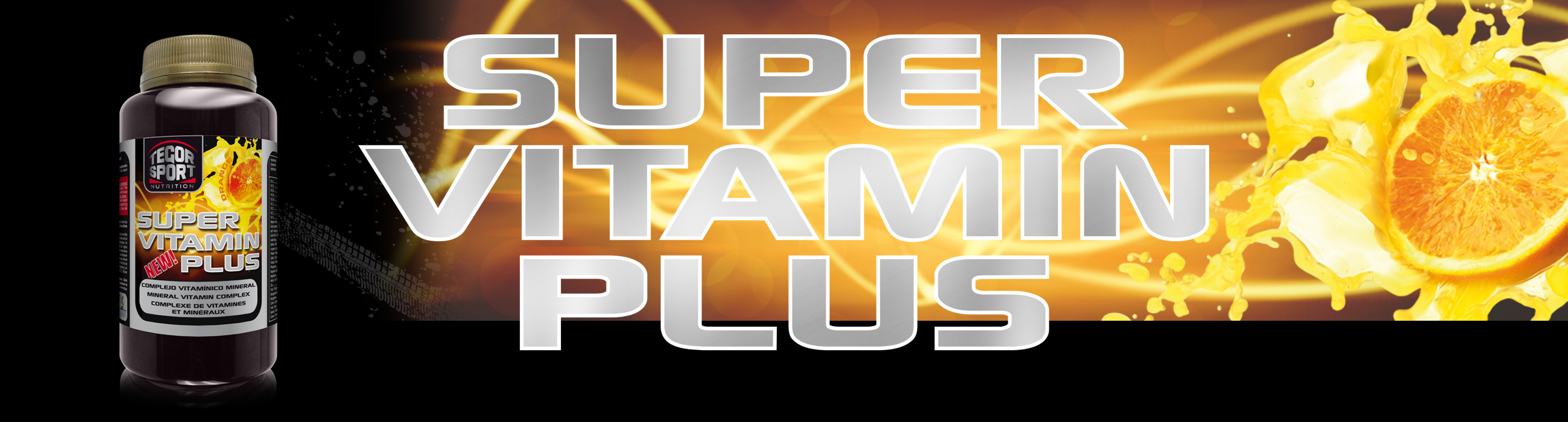 Bote super vitamin plus con naranja