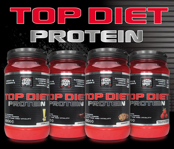 Bodegón productos Top Diet Protein