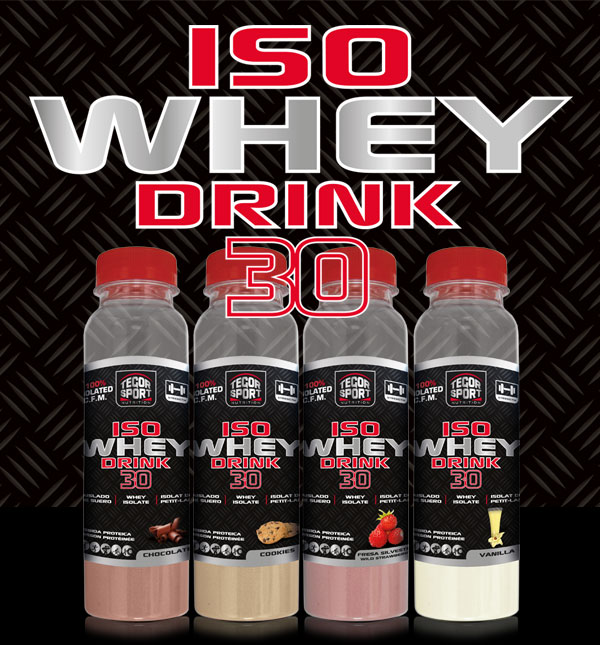 Botellas Iso Whey Drink