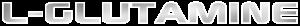 logotipo L-Glutamine