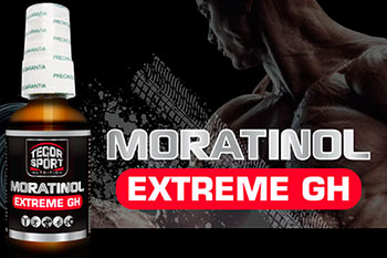 Producto Moratinol Extreme GH fondo negro