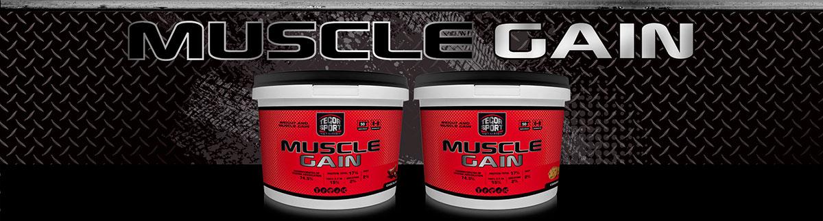 MUSCLE GAIN | Tegor Sport